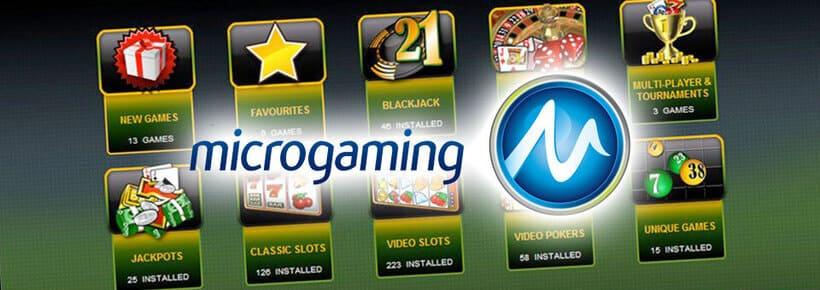 Casino slots från Microgaming